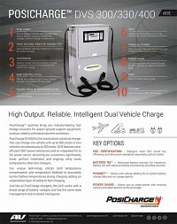 PosiCharge: DVS-300 & 400 Dual Port Outdoor Charger